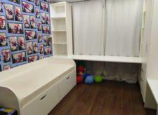 Кровать, стеллаж и рабочий стол для детской комнаты